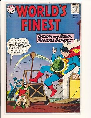 World's Finest Comics # 132 VG+ Cond.