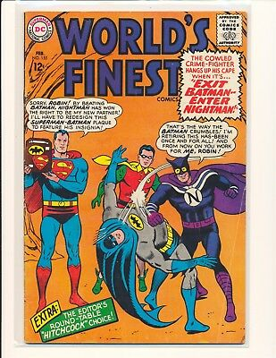 World's Finest Comics # 155 VG Cond.