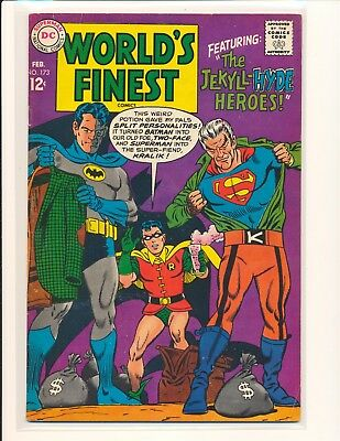 World's Finest Comics # 173 VG/Fine Cond.