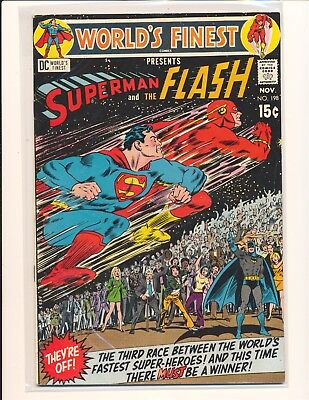 World's Finest Comics # 198 - 3rd Superman/Flash race VG/Fine Cond.