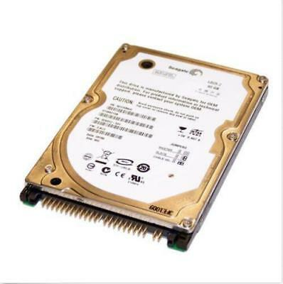 "Seagate 80GB ST980210A 54000RPM IDE PATA 2.5"" Laptop HDD Hard Disk Drive"