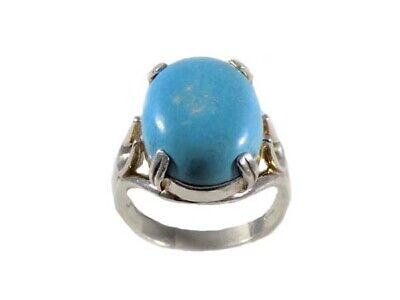 Persian Turquoise 8½ct Antique 18thC Ancient American Indian Gem of the Immortal