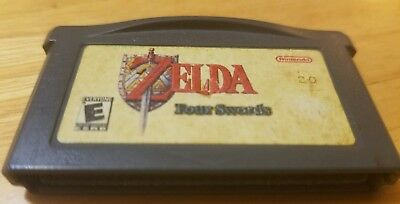 Game Boy Advance - Legend of Zelda: A Link to the Past + Four Swords - AUTHENTIC