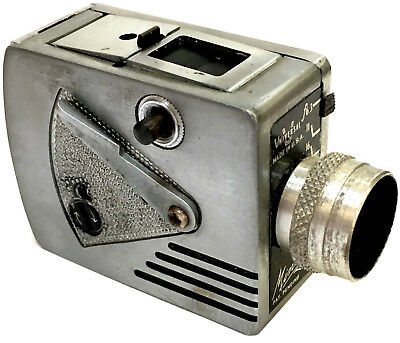 "Rare Antique American Made ""cold War"" Mini Spy Camera, Universal Minute 16"