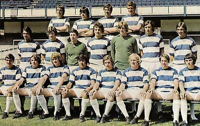 Qpr Football Team Photo>1971-72 Season