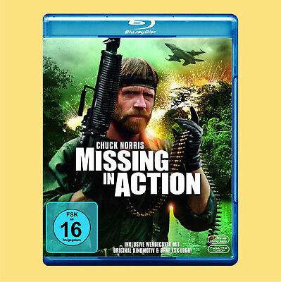 ••••• Missing In Action (Chuck Norris) (Blu-ray)☻