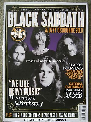 Black Sabbath Ozzy Osbourne Ultimate Music Guide by Uncut magazine Interviews