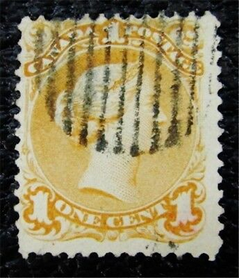 nystamps Canada Stamp # 23a Used $240