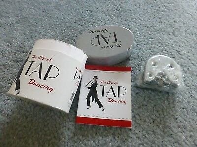 New Unused 'the Art Of Tap Dancing' Shoe Sheels And Book