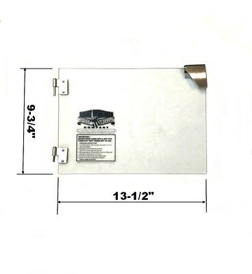 Glass Single Door Replacement For Great Northern Popcorn 4 oz Foundation Machine
