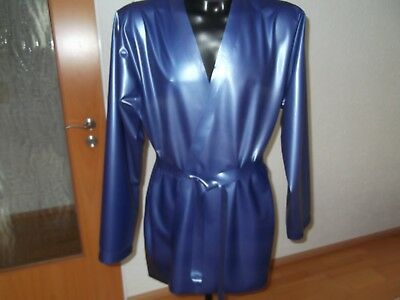 Latex morgen wickel  mantel gr XL-XXL