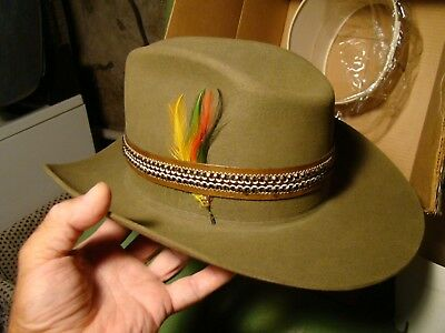 b9e9736f8895d COWBOY HAT WINCHESTER LIMITED EDITION STETSON SIZE 6+7 8 with Winchester box