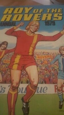 Roy of the rovers annual 1979