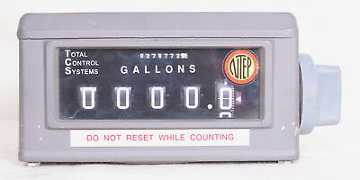 Veeder Root Gallon Counter 5 Wheels With 1/10 Wheel 0788700-071