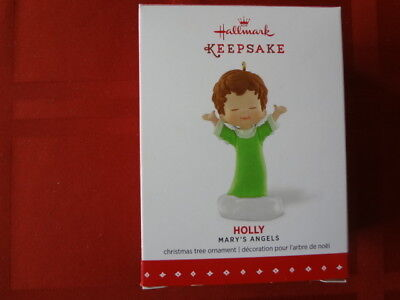 Hallmark Ornament Mary Angels Holly Series # 28 2015 Mint In Box