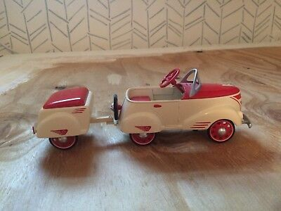 Hallmark Kiddie Car Classics 1940 Custom Roadster With Trailer