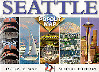 USA PopOut Maps S.: Seattle by Map Group (Book)