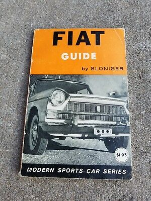 1960 FIAT Guide Book Automobile GREAT PHOTOS!