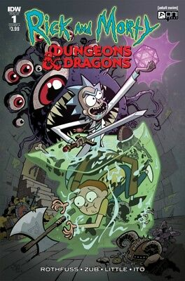 Rick & Morty Vs Dungeons & Dragons #1 Cover A  Idw Publishing 91218