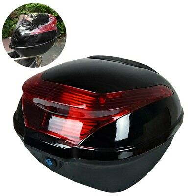 Motorcycle Luggage Trunk Large Capacity Scooter Tail Storage Box Lock Design New