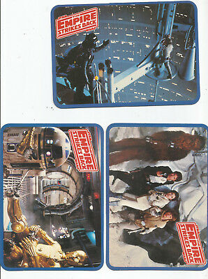 STAR WARS THE EMPIRE STRIKES BACK * LOT of 6 DIFFERENT POSTCARDS * 1980