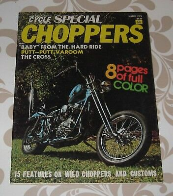 Choppers, Motor Cycle World special #5 1972, 67 pages with many photos,free ship