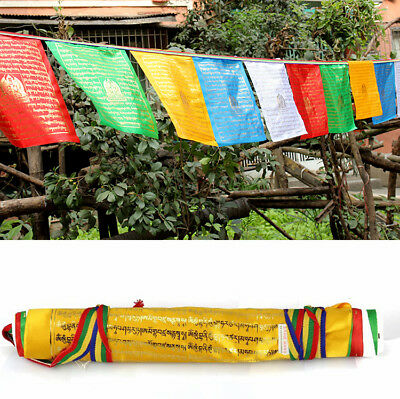 600cm BLESSED 20-FLAGS WIND HORSE PRAYER FLAG: HEAL MANTRA OF MEDICINE BUDDHA