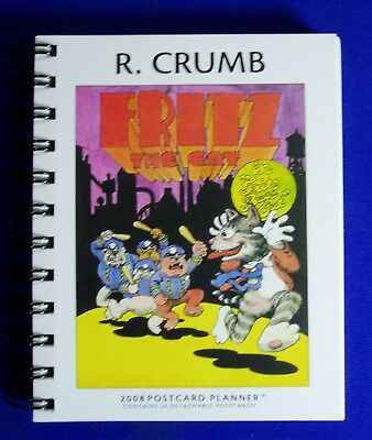R. Crumb 2008 Postcard Planner(Calendar). New and unused.