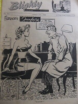 Blighty Magazine, Cartoons, Jokes And Pop Music. 6.5 Special Etc. 1958.