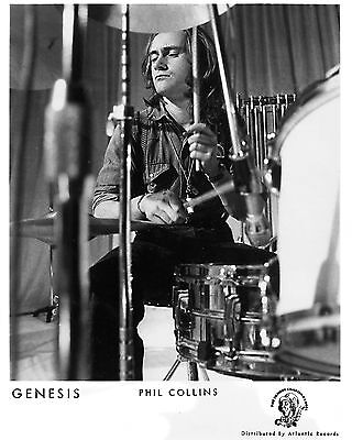 "Genesis Phil Collins 10"" x 8"" Photograph no 3"
