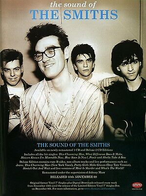 "The Smiths THE SOUND OF 16"" x 12"" Photo Repro Promo  Poster"