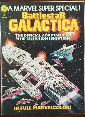 Marvel Super Special #8 Battlestar Galactica 1978 Marvel Us Magazine<