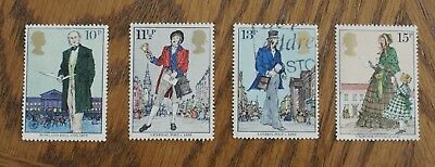 Complete British used stamp set - 1979 Roland Hill Death Centenary