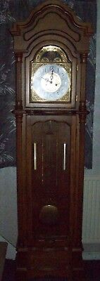 wooden grandfather clock not solid wood