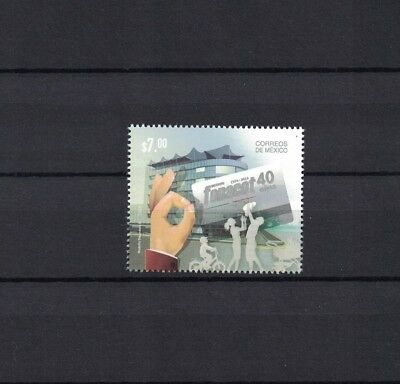 Mexico Mexiko 2014 stamp ** / mnh Hand Institut fonacot Familie