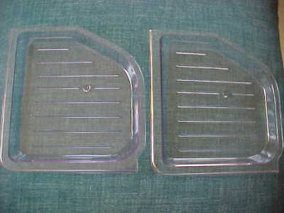 2x Cuisinart Soft Serve Ice Cream Maker Replacement Part Drip Tray ICE-45