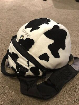 Little Life Cow Print Toddler Backpack With Harness