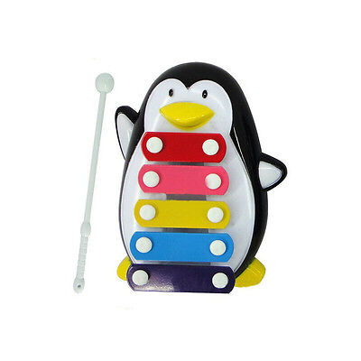 Baby Kid 5-Note Xylophone Musical Toys Wisdom Development Penguin Nice