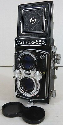 Yashica - 635 Twin Lens Reflex Camera TLR Medium Format - Estate Fresh