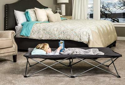 Regalo My Cot Extra Long Portable Bed, Gray, Includes Fitted Sheet and...
