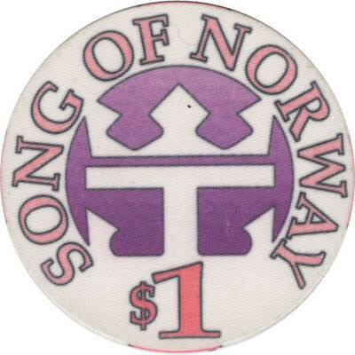 Royal Caribbean - Song of Norway - $1 Casino Chip