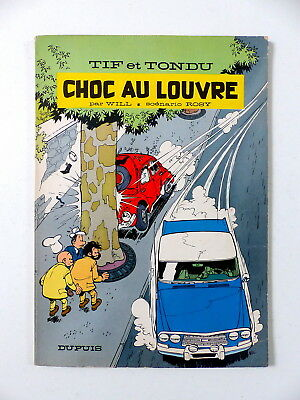 TIF & TONDU - 1966 édition originale - Choc au Louvre - Will (journal de Spirou)