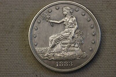 1883 Trade$  - Scarce Proof-Only Trade Dollar - US Trade Dollar