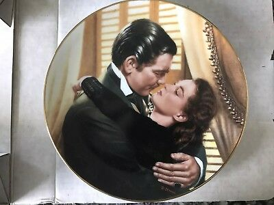 GONE WITH THE WIND CRITIC'S CHOICE MARRY ME SCARLETT #1 Plate COA MIB 1991