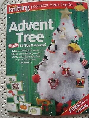Alan Dart's Advent Tree & 25 Toy Patterns Knitting Pattern Booklet