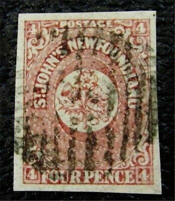 nystamps Canada NewFoundland Stamp # 18 Used UN$90 VF