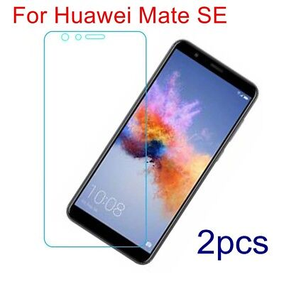 2x For Huawei Mate SE Shockproof Explosion Proof Tempered Glass Screen Protector