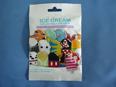 ICE CREAM  Disney Pin 5 PINS Collectible PIN PACK Mystery 2018 NEW Cute