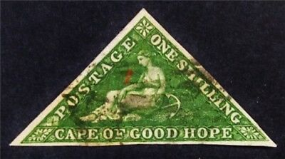 nystamps British Cape of Good Hope Stamp # 6A Used $600