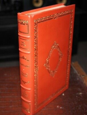 Franklin Library First Edition Recapitulation Wallace Stegner Leather Bound